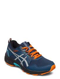 Asics Gel-Venture 8 Gs Shoes Sports Shoes Running/training Shoes Sininen Asics MAKO BLUE/PIEDMONT GREY