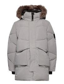 name it Nknmaro Puffer Jacket Fo Toppatakki Harmaa Name It FROST GRAY