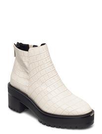 Vero Moda Vmmelba Boot Shoes Boots Ankle Boots Ankle Boot - Heel Valkoinen Vero Moda BIRCH