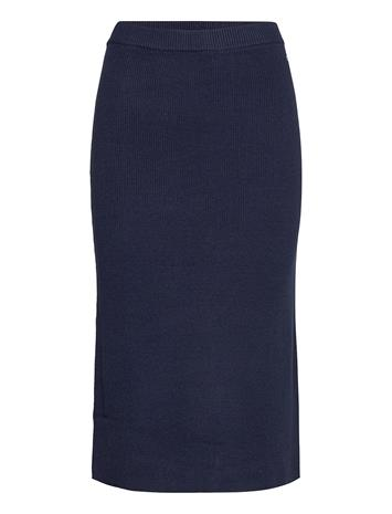 Tommy Jeans Tjw Sweater Skirt Polvipituinen Mekko Sininen Tommy Jeans TWILIGHT NAVY