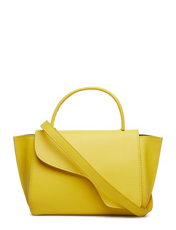 ATP Atelier Arezzo Vacchetta Bags Top Handle Bags Keltainen ATP Atelier CANARY YELLOW