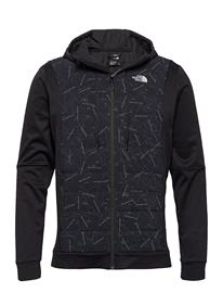 The North Face M Train N Logo Hybrid Insulated Jacket Vuorillinen Takki Topattu Takki Musta The North Face TNF BLACK