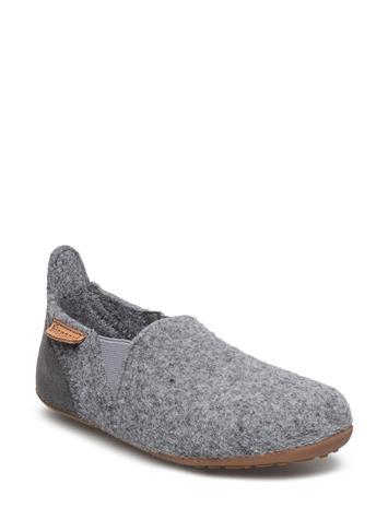 Bisgaard Home Shoe - Wool Sailor Aamutossut Sisäkengät Harmaa Bisgaard 70 GREY