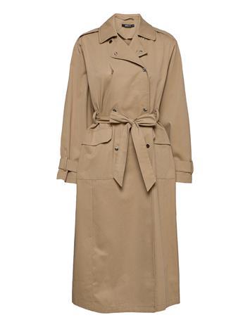 Gina Tricot Sally Trench Coat Trenssi Takki Beige Gina Tricot BEIGE (1040)
