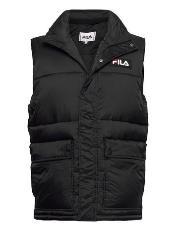 FILA Men Salo Puffer Vest Liivi Musta FILA BLACK