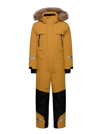 Tretorn Sarek Expedition Overall Outerwear Snow/ski Clothing Snow/ski Suits & Sets Keltainen Tretorn 072/HARVEST