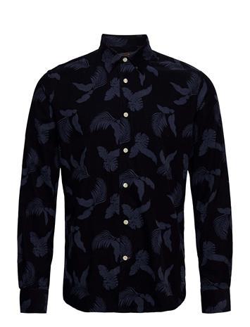 Morris Ashton Button Under Shirt Paita Rento Casual Sininen Morris BLUE