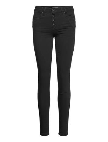 Pulz Jeans Pzanna Jeans Stay Black Skinny Farkut Musta Pulz Jeans BLACK DENIM