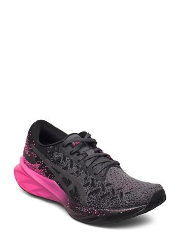 Asics Dynablast Shoes Sport Shoes Running Shoes Musta Asics BLACK/PINK GLO