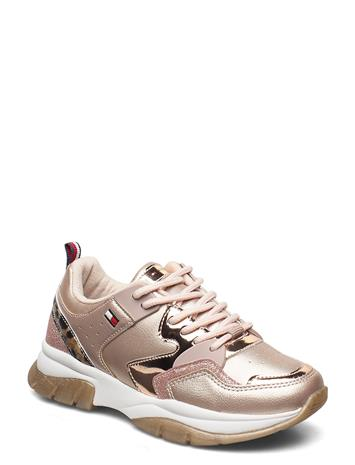 Tommy Hilfiger T3a4-30825-0489x938 Tennarit Sneakerit Kengät Kulta Tommy Hilfiger ROSE GOLD/BEIGE