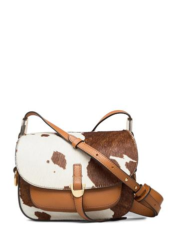Coccinelle Fauve Cow Bags Small Shoulder Bags - Crossbody Bags Ruskea Coccinelle MULT.MOKA/CARAM
