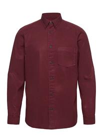 Selected Homme Slhregklay Shirt Ls W Paita Rento Casual Punainen Selected Homme PORT ROYALE
