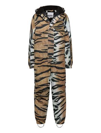 Molo Polaris Outerwear Snow/ski Clothing Snow/ski Suits & Sets Monivärinen/Kuvioitu Molo WILD TIGER
