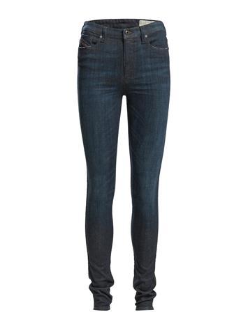 Diesel Women Skinzee-High Trousers Skinny Farkut Sininen Diesel Women DENIM