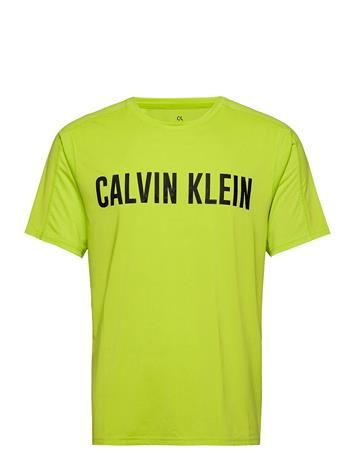 Calvin Klein Performance Short Sleeve T-Shirt T-shirts Short-sleeved Keltainen Calvin Klein Performance KIWI SPLASH