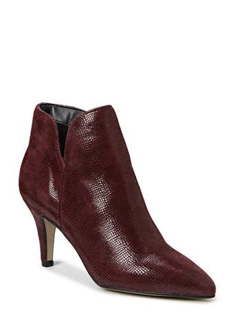 Tamaris Woms Boots Shoes Boots Ankle Boots Ankle Boot - Heel Punainen Tamaris BORDEAUX