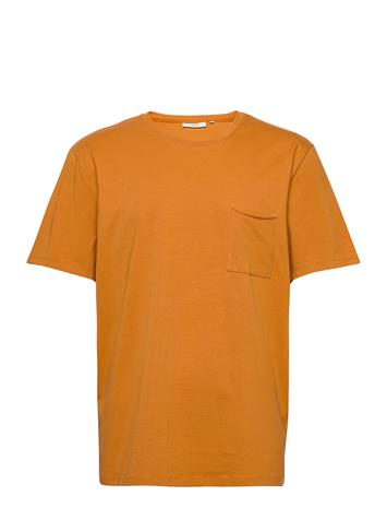 Minimum Nowa T-shirts Short-sleeved Oranssi Minimum THAI CURRY, Miesten paidat, puserot ja neuleet