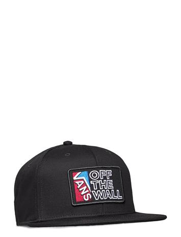 VANS Vans Dimensions Snapback Accessories Headwear Caps Musta VANS BLACK