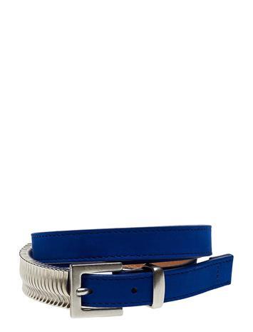 Cala Jade Mini Rattle Belt Vyö Sininen Cala Jade KLEIN BLUE SILVER