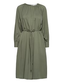 Cathrine Hammel Plain Miami Dress Polvipituinen Mekko Vihreä Cathrine Hammel OPAL GREEN, Naisten hameet ja mekot