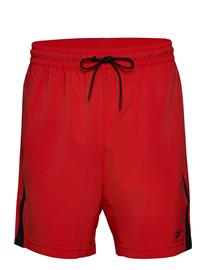 Reebok Performance Wor Woven Short Shorts Sport Shorts Punainen Reebok Performance INSRED