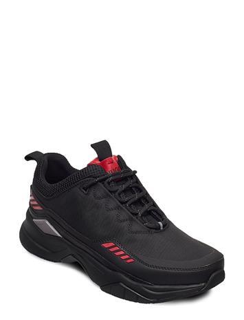 HUGO Block_runn_ltme Matalavartiset Sneakerit Tennarit Musta HUGO BLACK