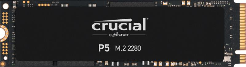 Crucial P5 NVMe (1000 GB PCIe M.2) CT1000P5SSD8, SSD-kovalevy