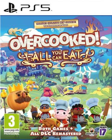 Overcooked! All You Can Eat, PS5 -peli