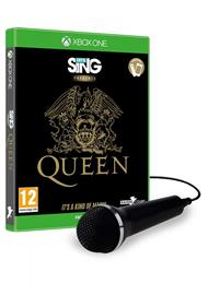 Let's Sing Presents Queen, Xbox One -peli + 1 mikrofoni