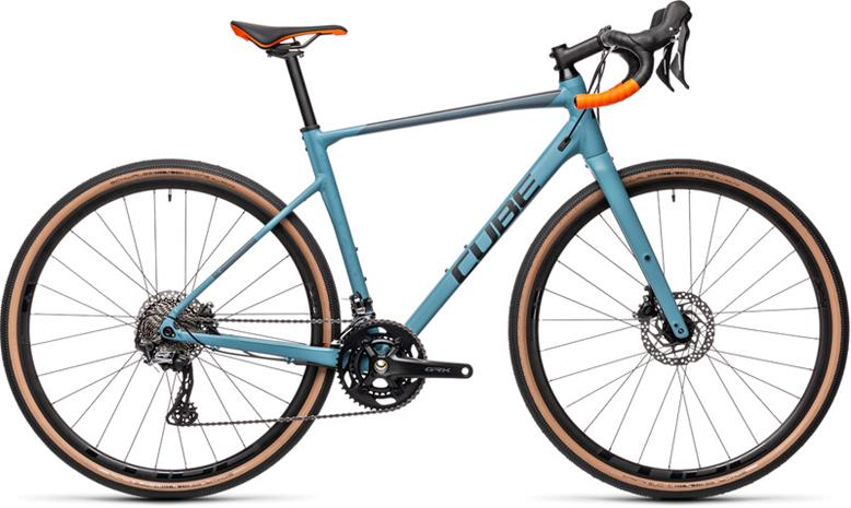 Cube Nuroad Race, greyblue'n'orange