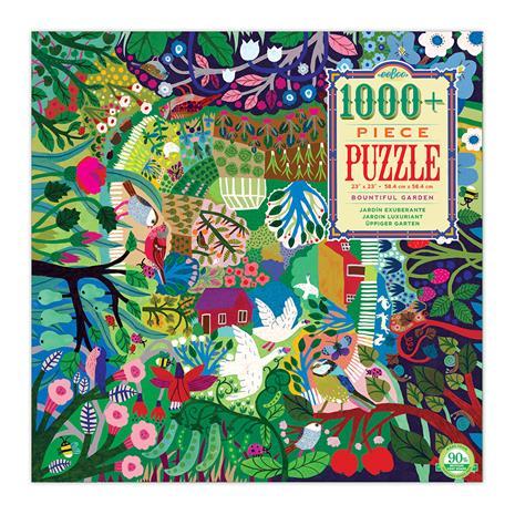 eeBoo - Puzzle - Bountiful Garden, 1000 pc (EPZTBGN)