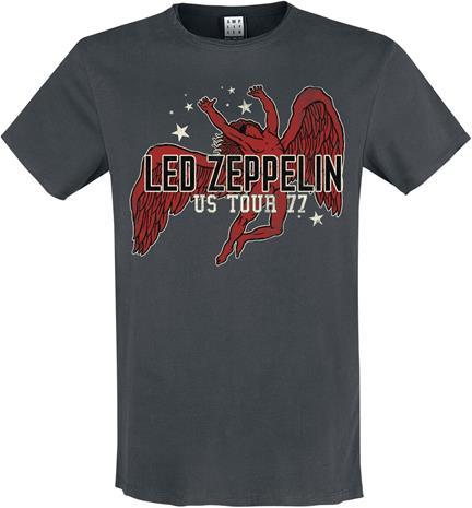 Led Zeppelin - Icarus - T-paita - Miehet - Hiilenharmaa