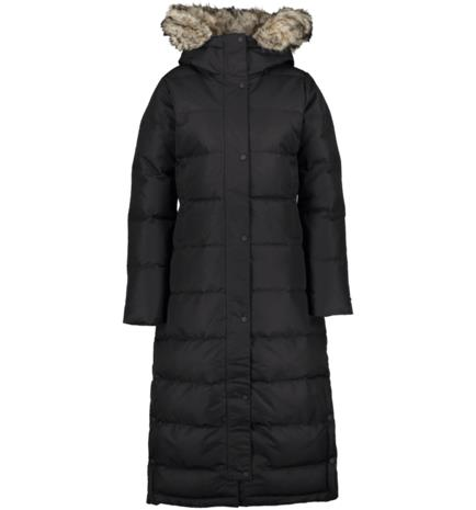 Everest W ULTRA L DOWN PARKA BLACK
