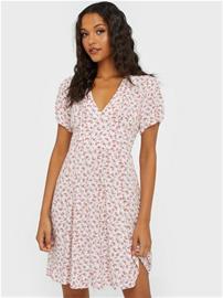 Only Onldavie Ss Short Dress Wvn Valkoinen