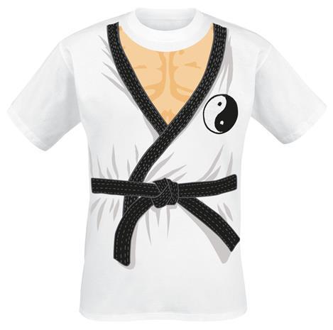 Karate Shirt - - T-paita - Miehet - Valkoinen