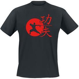 Kung Fu (Circle) - - T-paita - Miehet - Musta