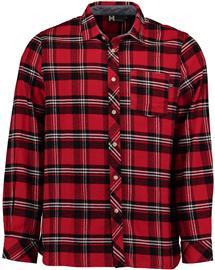 Hailys - Shirt Bill - Pitkähihainen kauluspaita - Miehet - Punainen