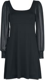 Outer Vision - Dress Bet - Lyhyt mekko - Naiset - Musta