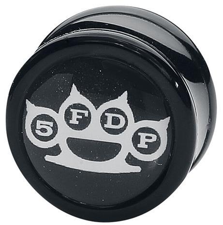 Five Finger Death Punch - Knuckle - Plugi - Unisex - Musta