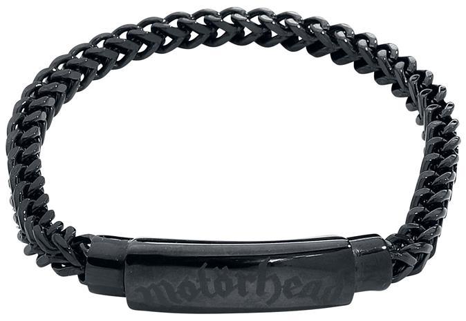 Motörhead - Motörhead Snake Bracelet - Rannekoru - Naiset - Musta