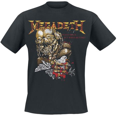 Megadeth - Peace Sell But Who's Buying - T-paita - Miehet - Musta