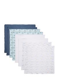 Pippi Cloth Muslin Aop Home Bath Time Towels And Cloths Sininen Pippi PROVINCIAL BLUE