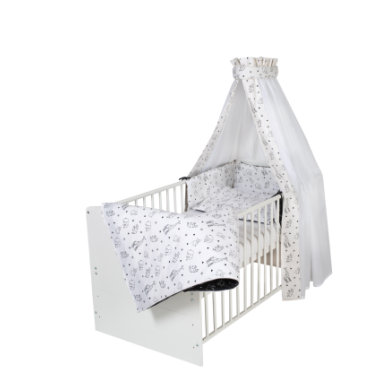 Schardt Complete vuode luokka ic Valkoinen Origami Musta 70 x 140 cm