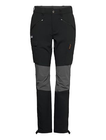 Bergans Nordmarka Hybrid W Pnt Sport Pants Musta Bergans BLACK / SOLID DARK GREY
