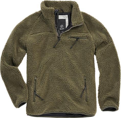 Brandit - Fleece Sweatshirt - Svetari - Miehet - Oliivi