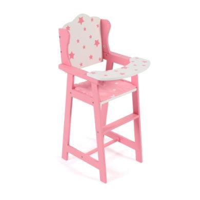 BAYER CHIC 2000 Dolls Stars syöttötuoli vaaleanpunainen