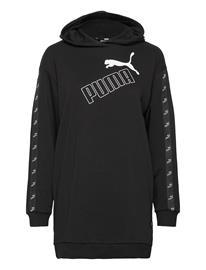 PUMA Amplified Hooded Dress Tr Huppari Musta PUMA PUMA BLACK