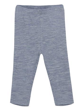 Wheat Wool Leggings Leggingsit Sininen Wheat MELANGE BLUE