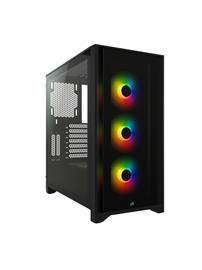 CORSAIR iCUE 4000X RGB CC-9011205-WW/CC-9011204-WW, ATX-miditornikotelo
