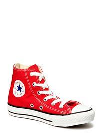 Converse Yths C/T Allstar Hi Tennarit Sneakerit Kengät Punainen Converse RED 1, Lasten kengät